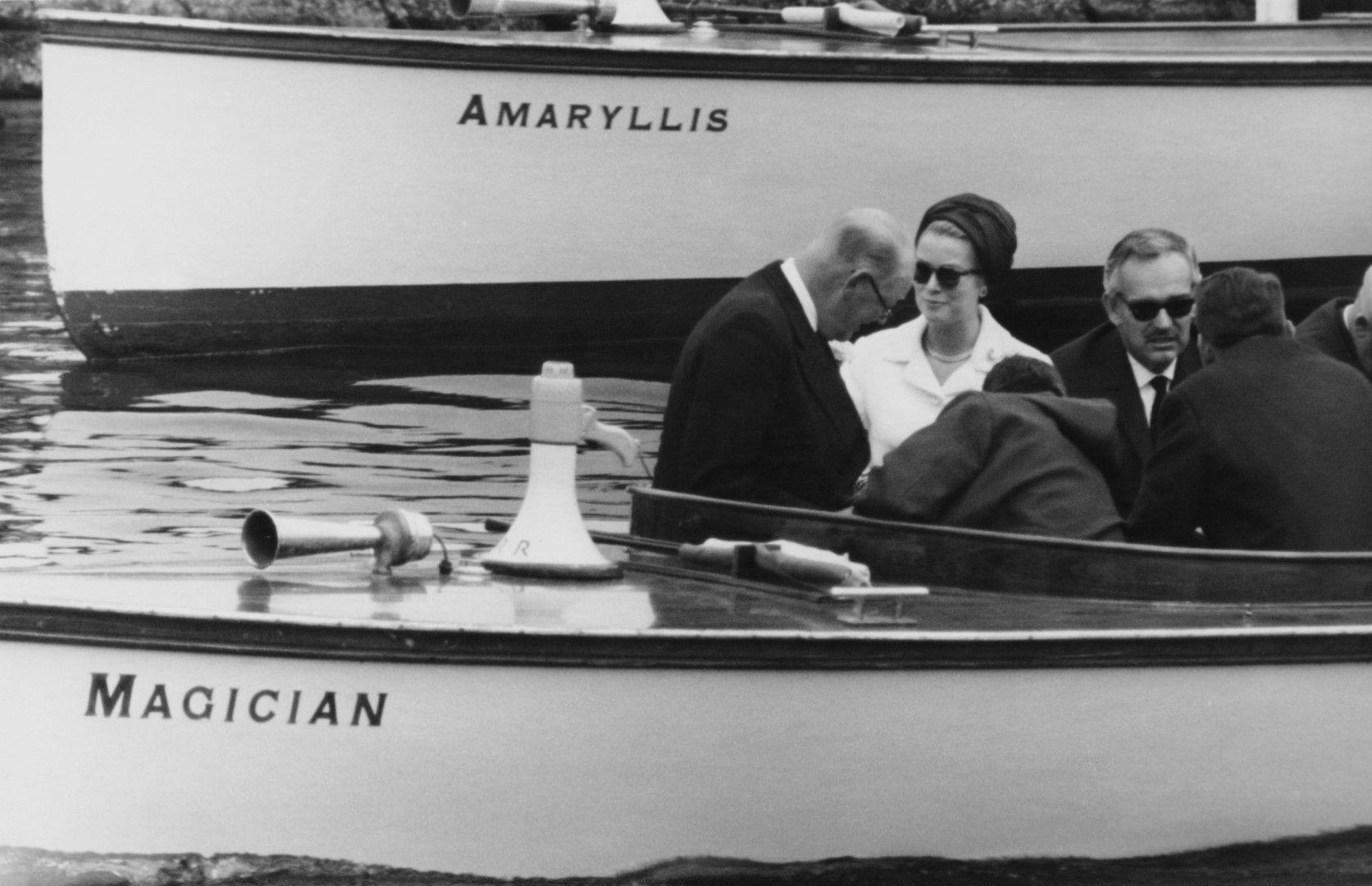 Принц Рение III и Грейс Кели през 1965 г.