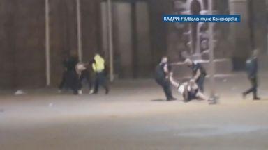 Установени  и отстранени временно са полицаите от видеоклиповете с употреба на физическа сила на протестите