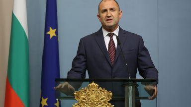 Румен Радев: Велико народно събрание мога да искам аз, а не премиерът