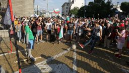Осми ден на протести (снимки)