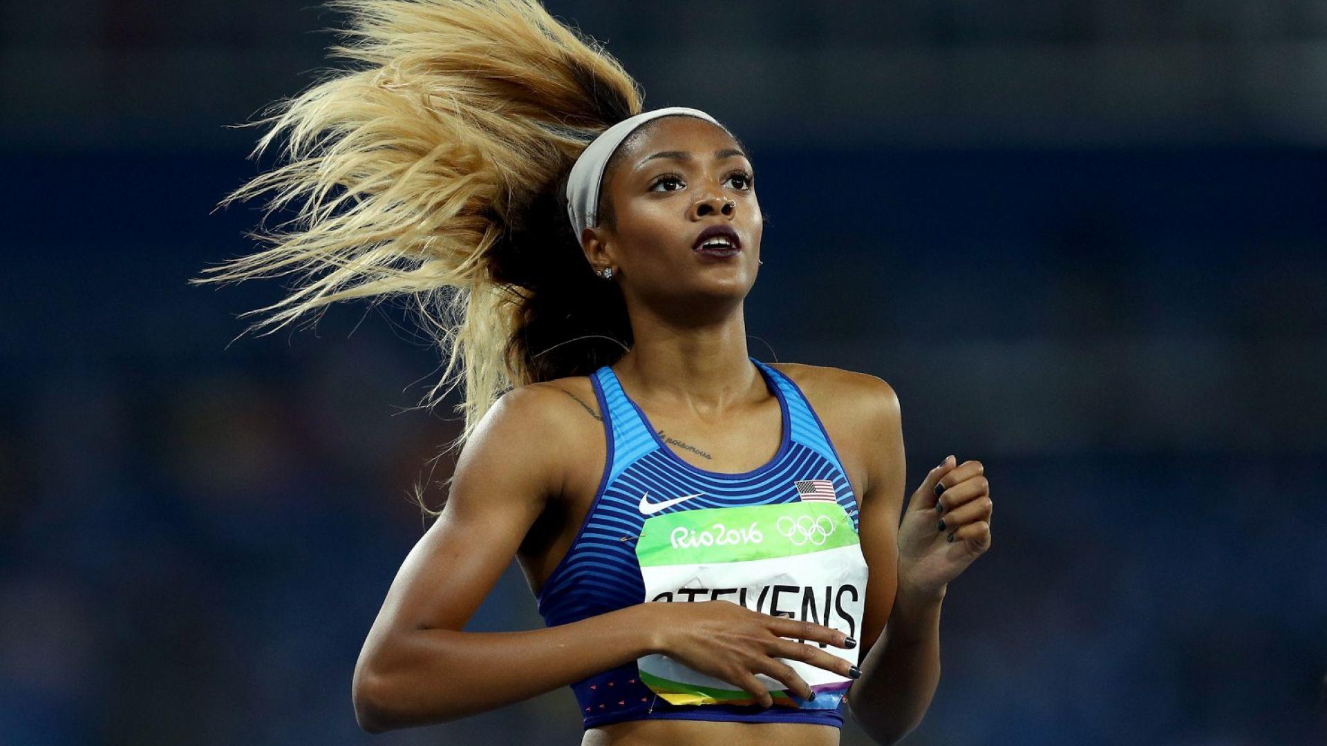 Американска спринтьорка отнесе наказание за пропускане на допинг тестове