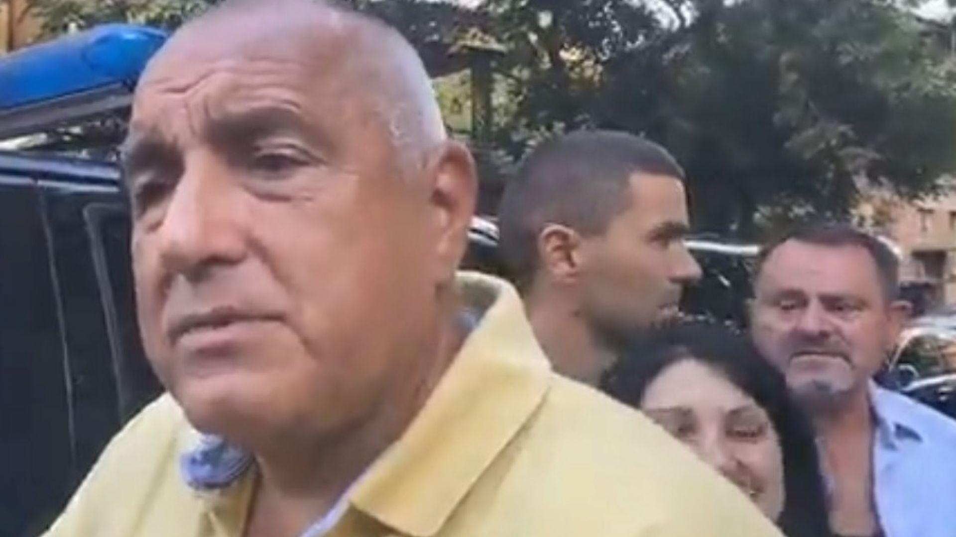 Борисов: Срещу мен има организирана група, подписах, че ще изкарам мандата (видео)