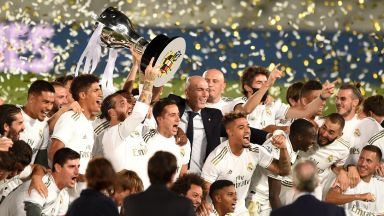 """""""Кралският клуб"""" ликува с 34-ата си титла на Испания"""