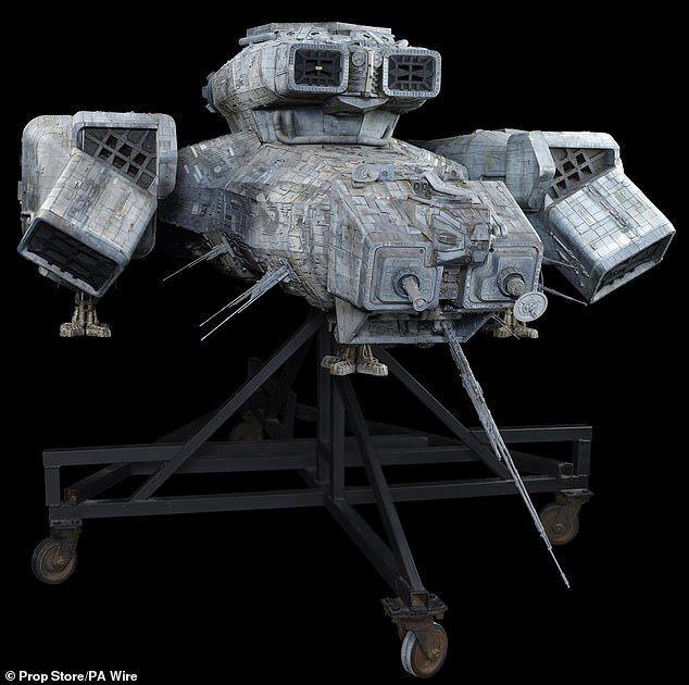 """космическият кораб """"Ностромо"""" от """"Пришълецът"""""""