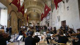 "Зала ""Парко дела музика"" в Рим вече ще се нарича ""Енио Мориконе"""