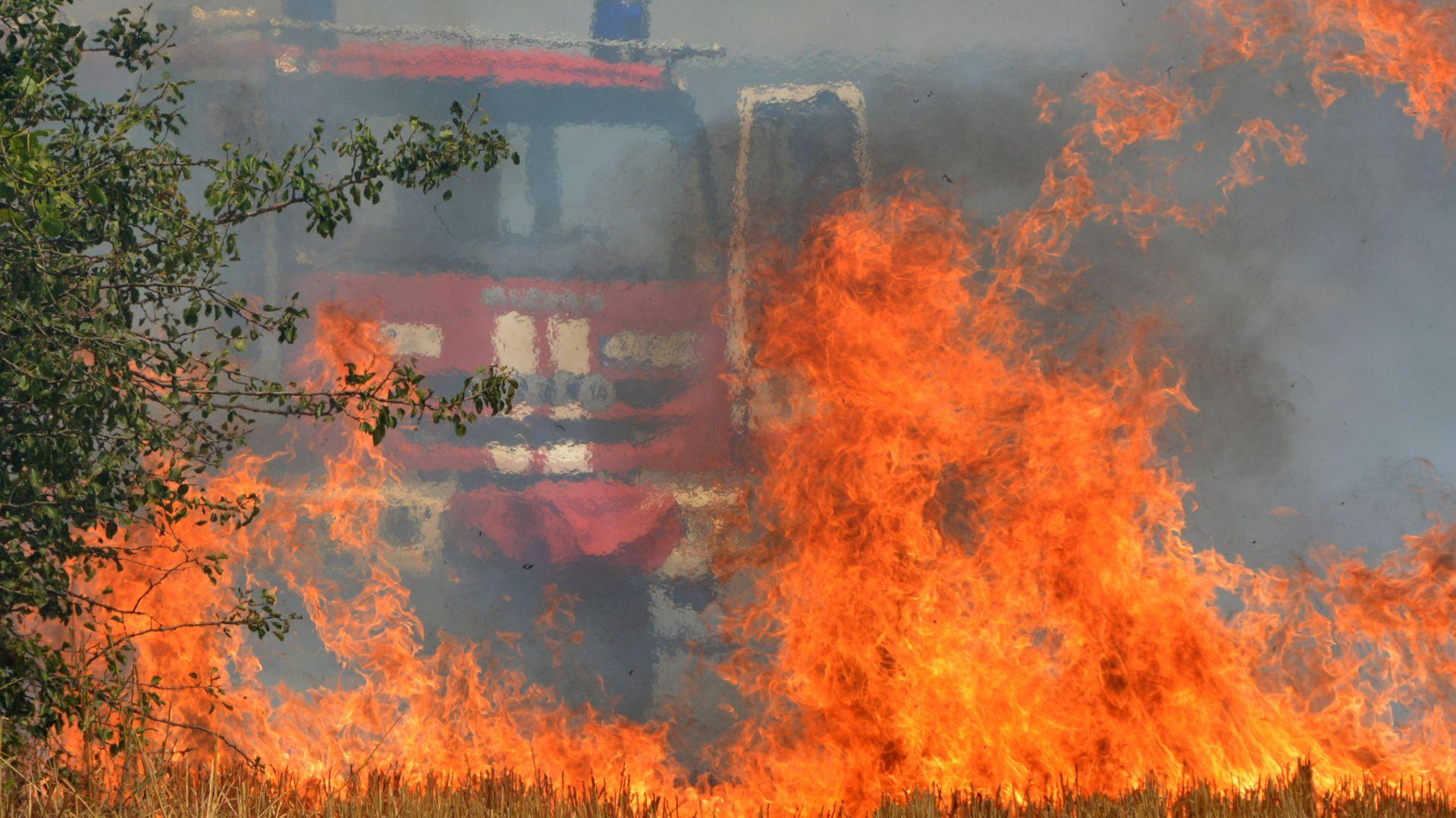 Шестчленно семейство от Сопот остана без дом заради пожар (видео)