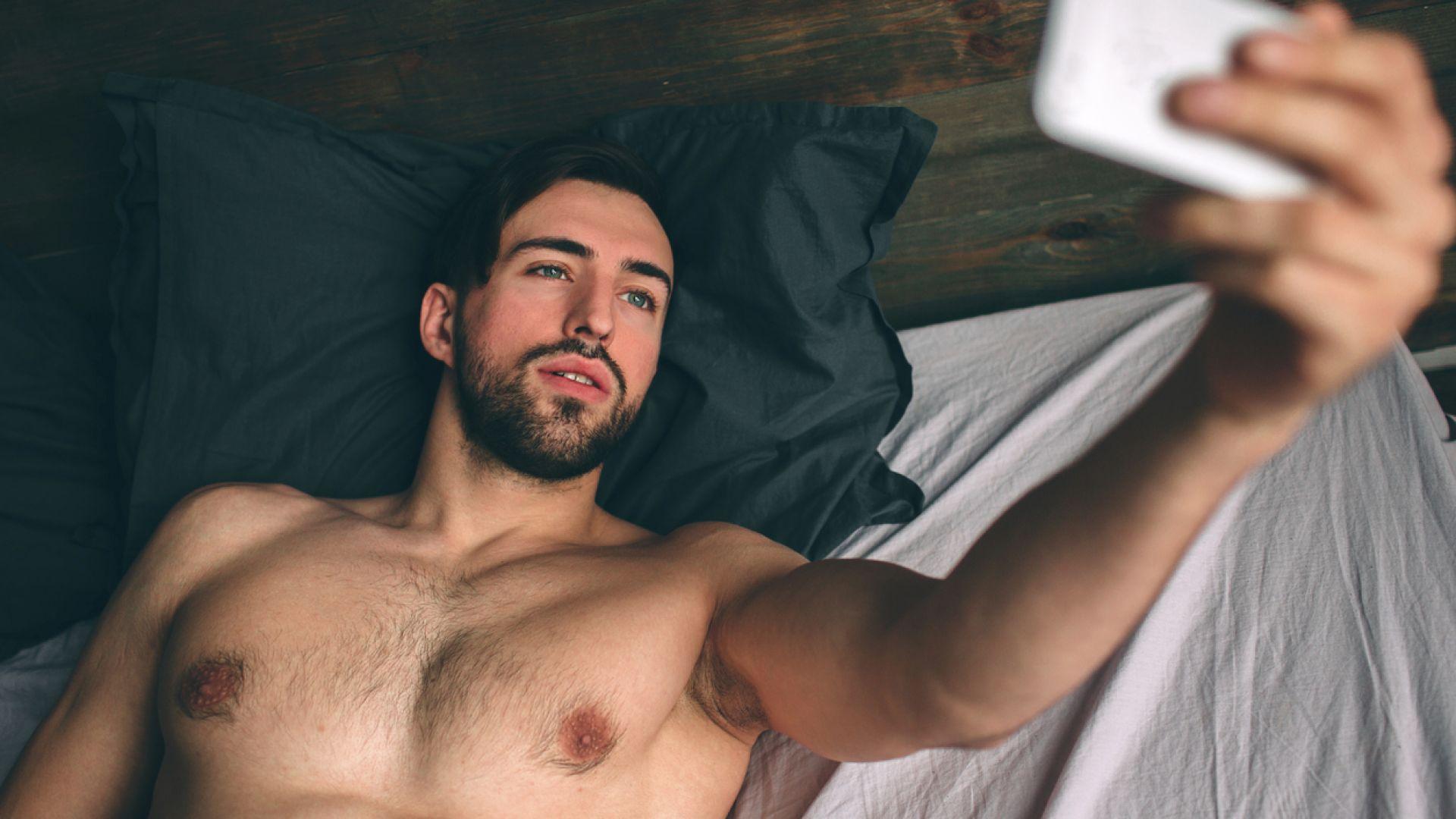Снимките на мъже, голи до кръста, не привличат жените в сайтовете за запознанства