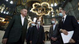 """Ердоган огледа """"Света София"""" - дни преди церемониалния намаз"""