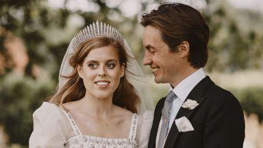 Сватбената рокля на принцеса Биатрис ще бъде изложена в замъка Уиндзор