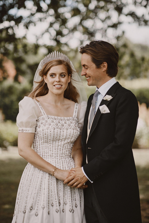 Сватбата на принцеса Беатрис и Едоардо Мапели Моци