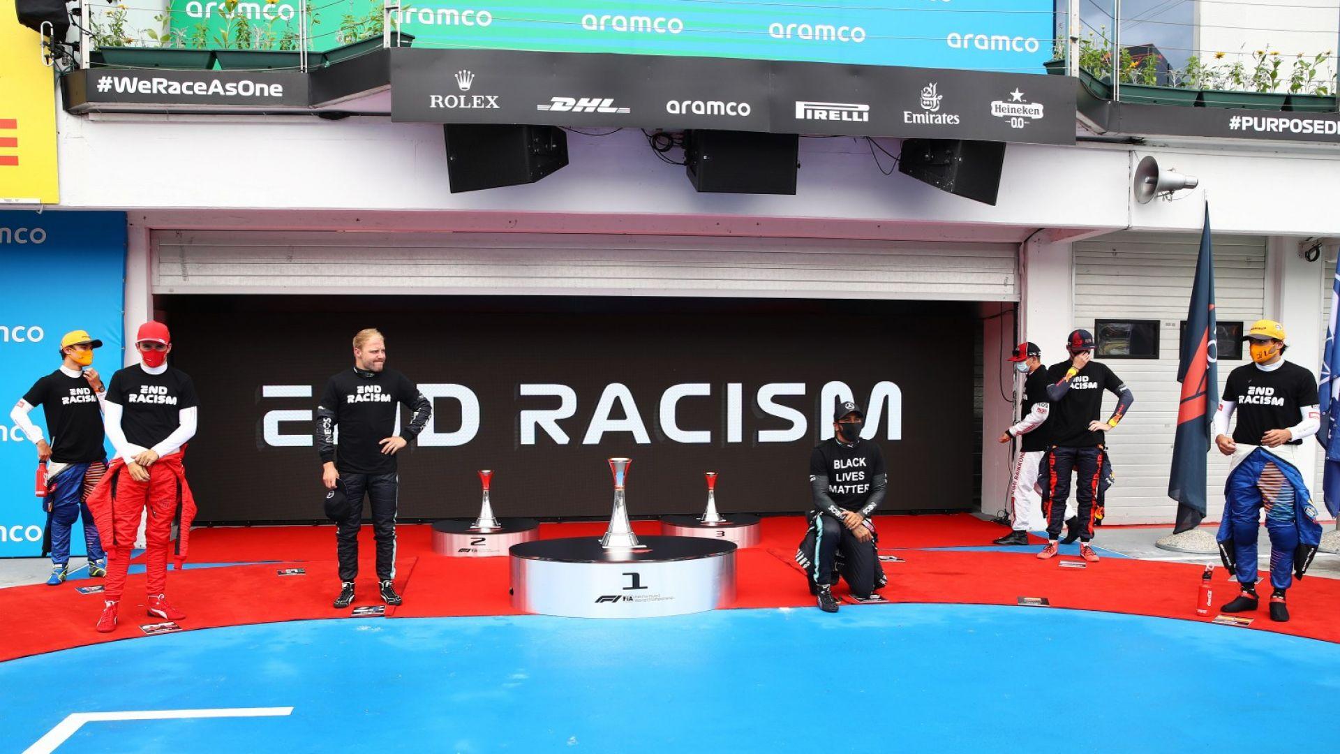 Хамилтън атакува поименно колегите си заради пасивност в битката с расизма