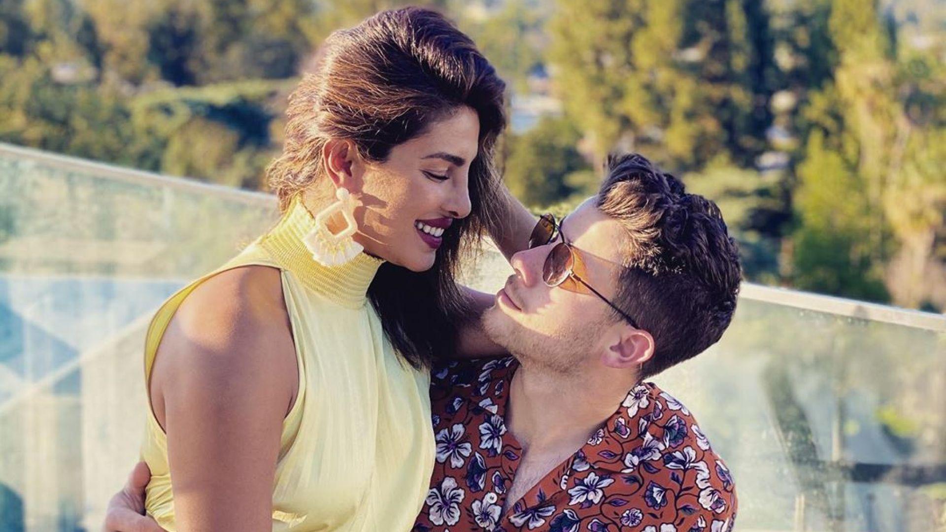 Ник Джонас към Приянка Чопра за рождения ѝ ден: Мога вечно да се взирам в очите ти