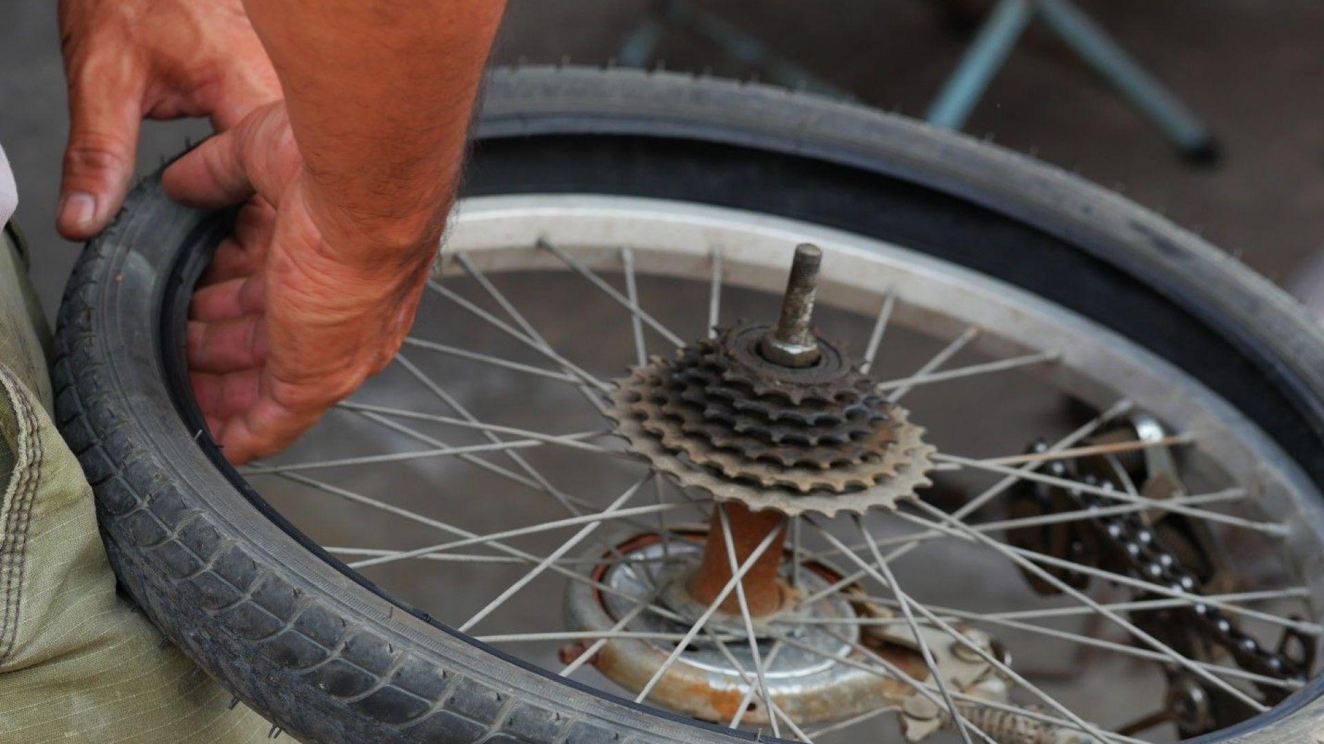 """Прегазиха велосипедист на магистрала """"Марица"""""""
