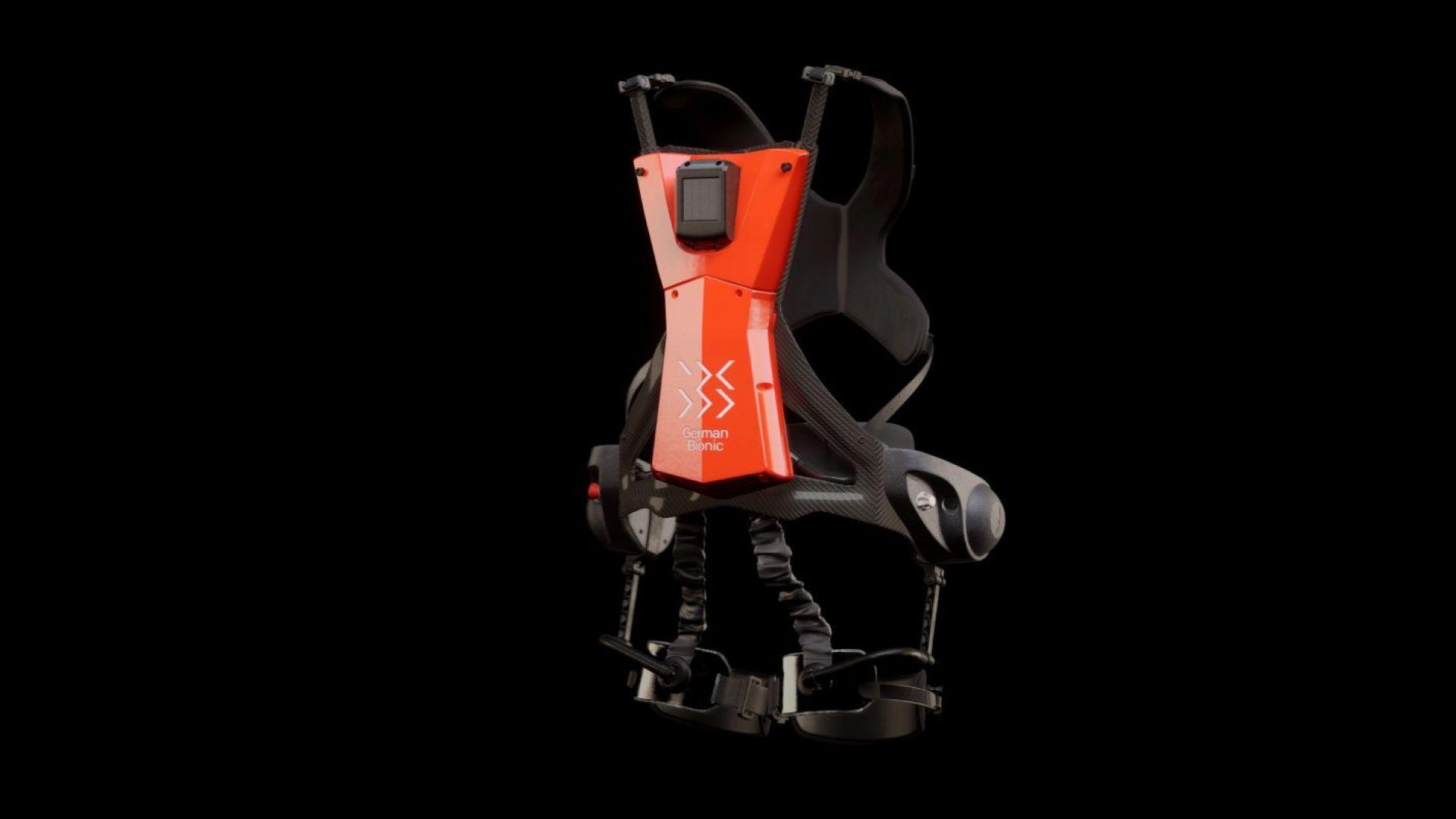 German Bionic представи карбонов екзоскелет за работници