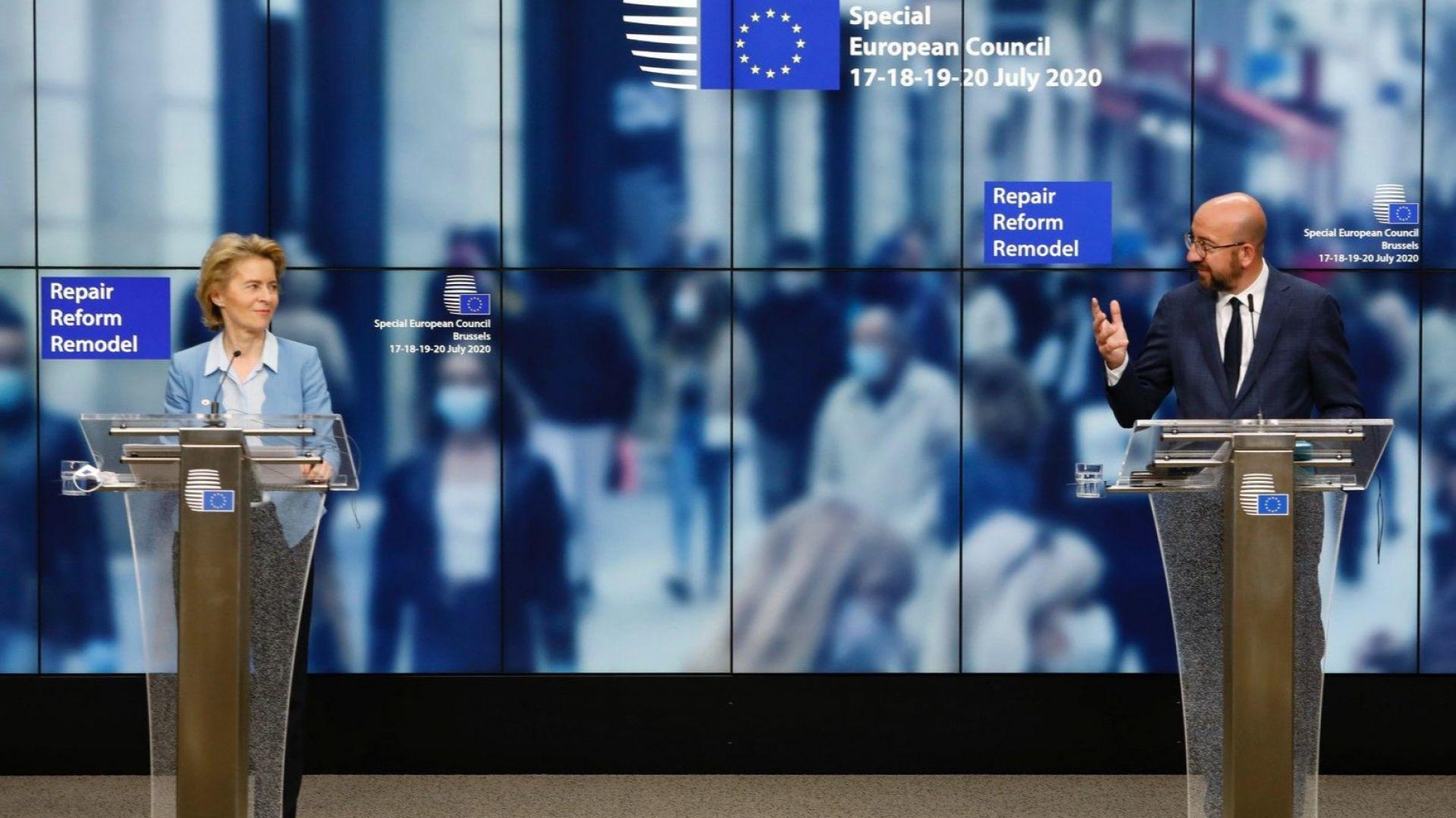 Как ще работят европейските милиарди: суми, заеми, грантове, планове, критерии