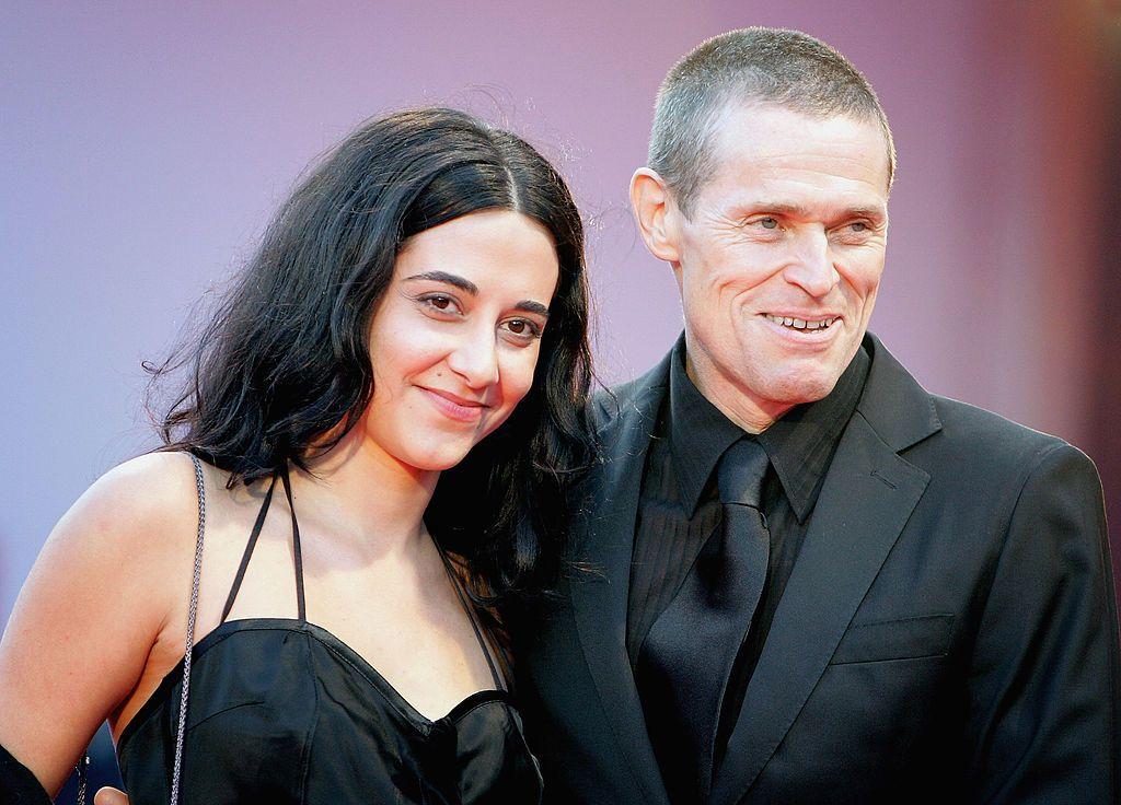 Уилям Дефо със съпругата си