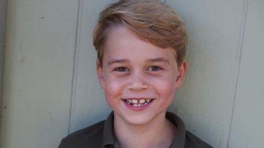 Принц Джордж на 7: нови снимки от Кейт Мидълтън