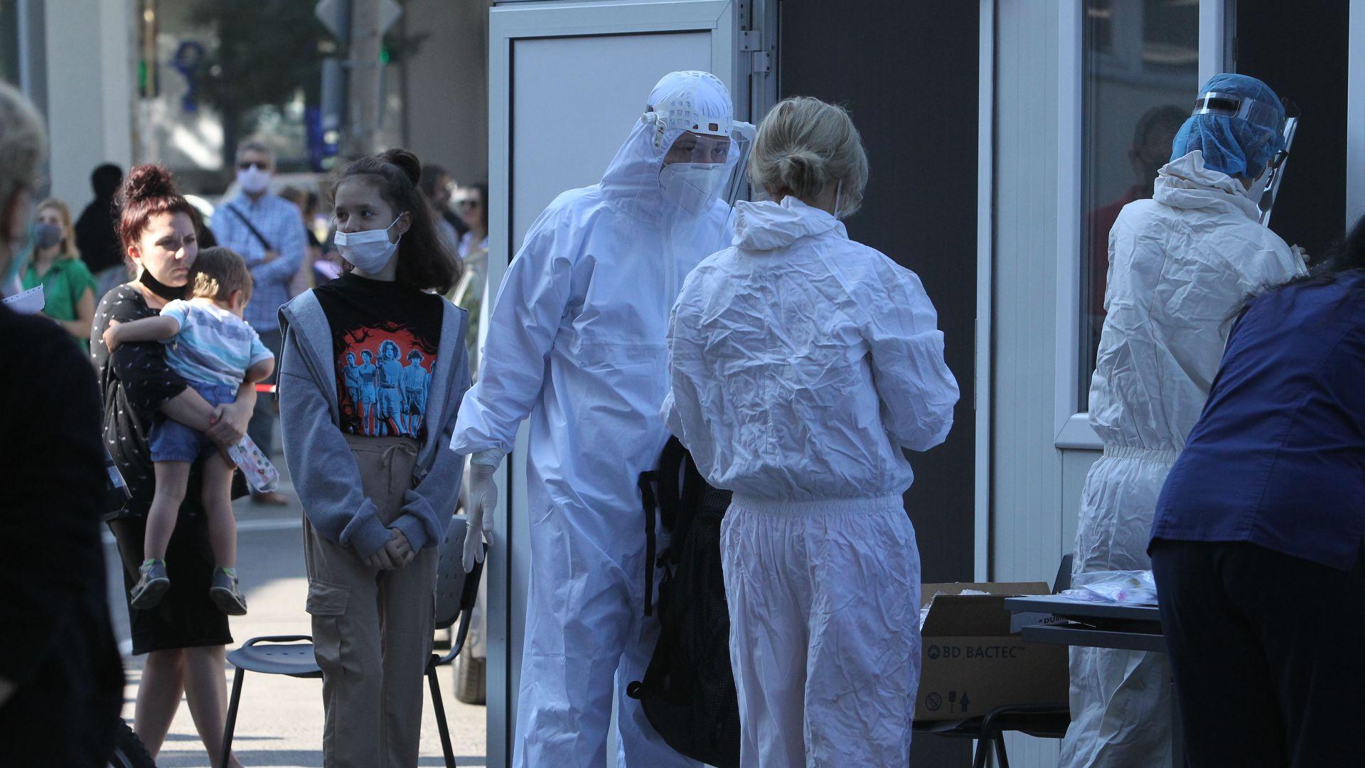 Рязък спад на заразените с коронавирус през последните 24 часа