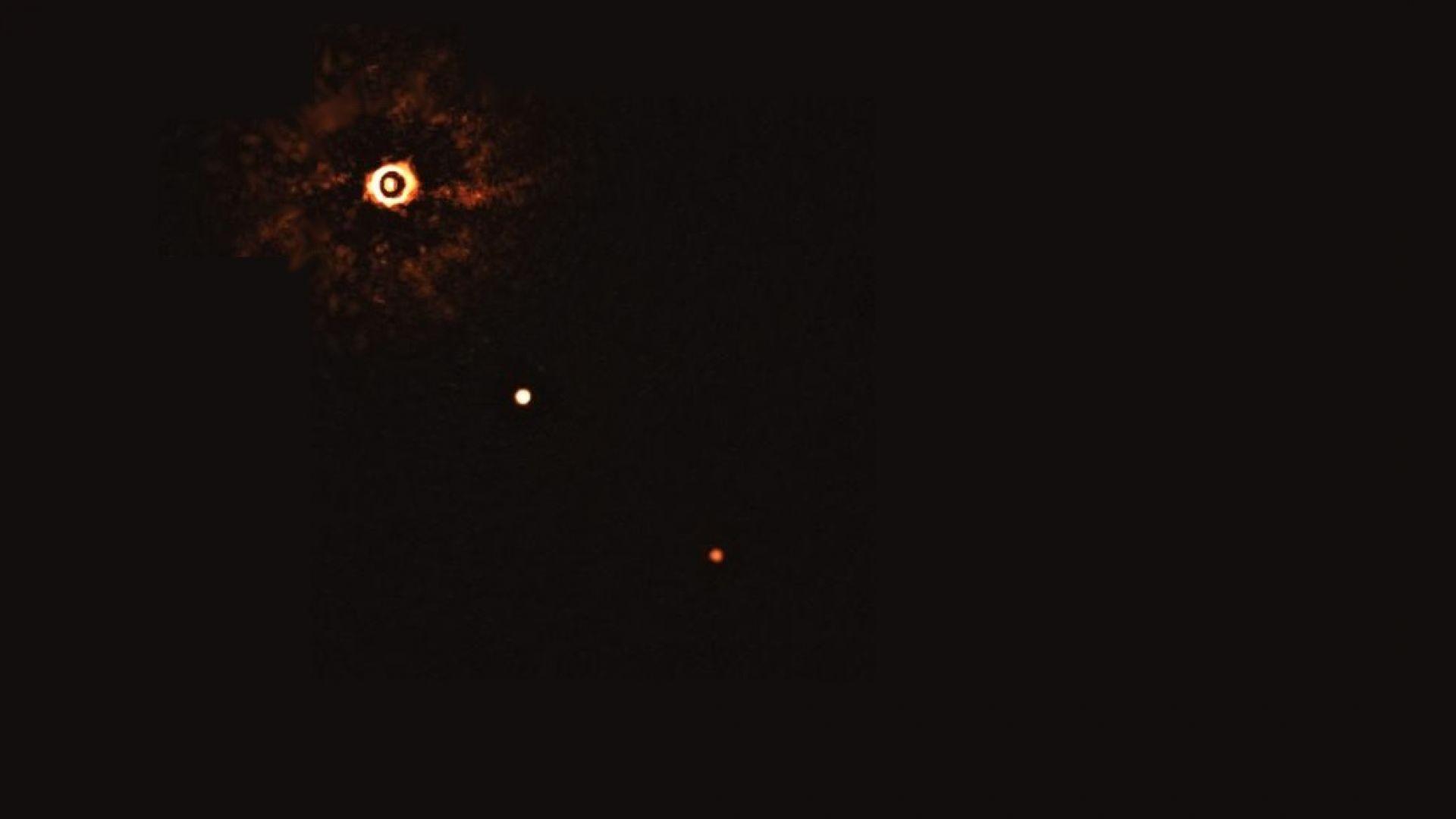 За пръв път заснеха планети около подобна на Слънцето звезда