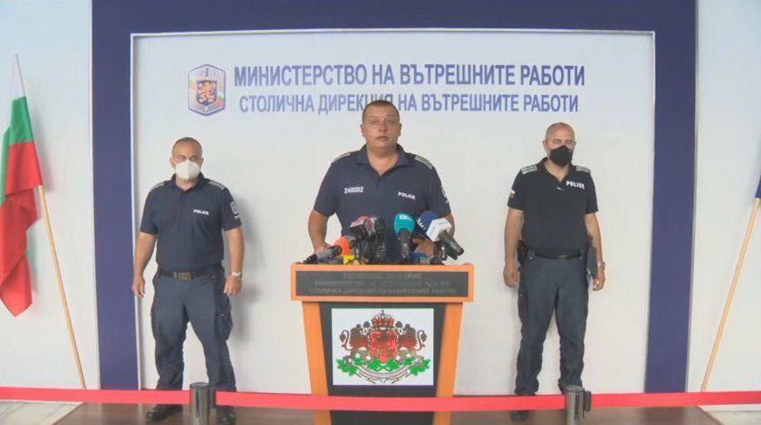 """комисар Тони Тодоров, зам.-директор на """"Охранителна полиция"""" към СДВР даде брифинг"""