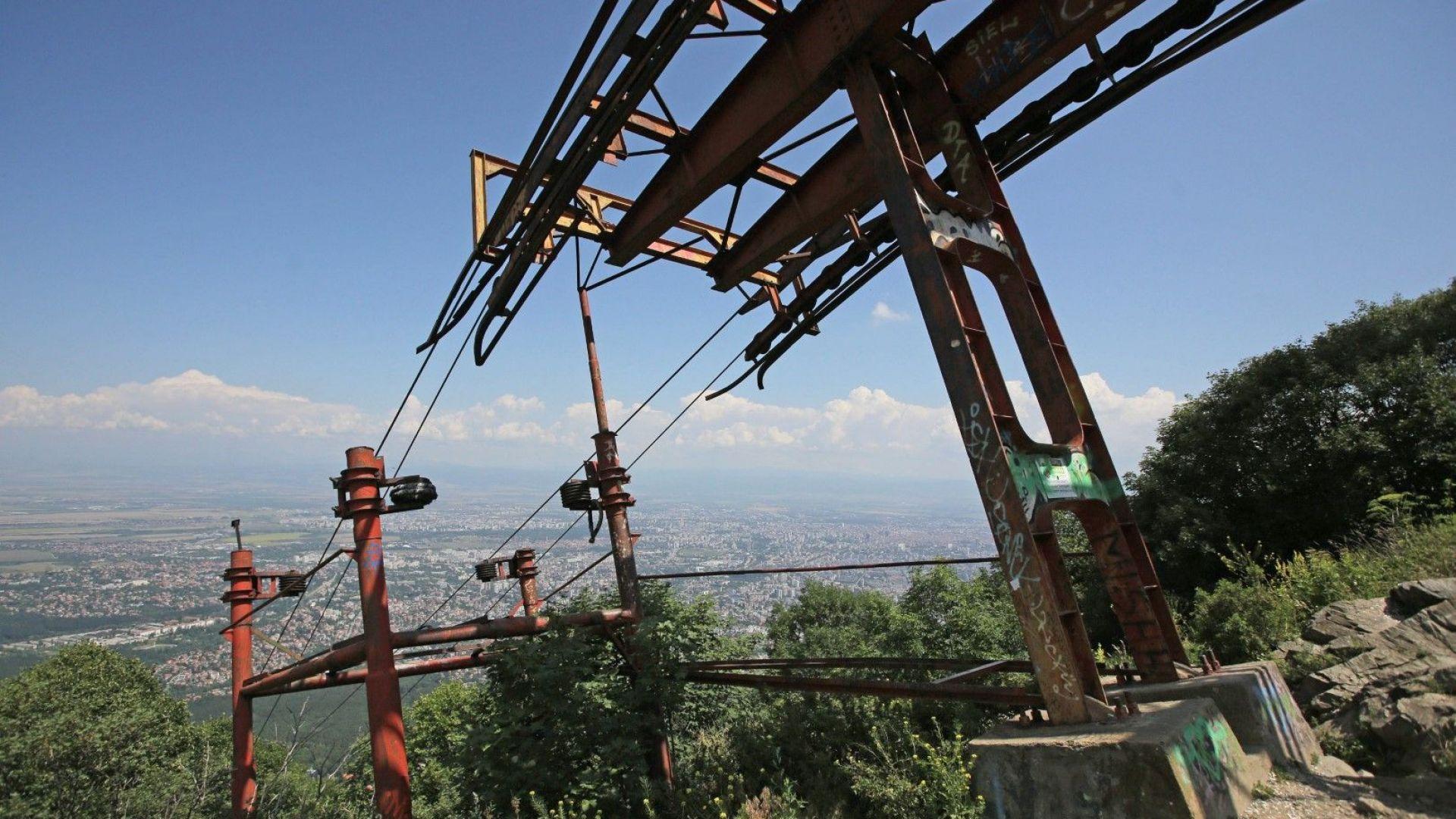 Новият княжевския лифт ще води към Витоша по старите стъпки и само до Копитото