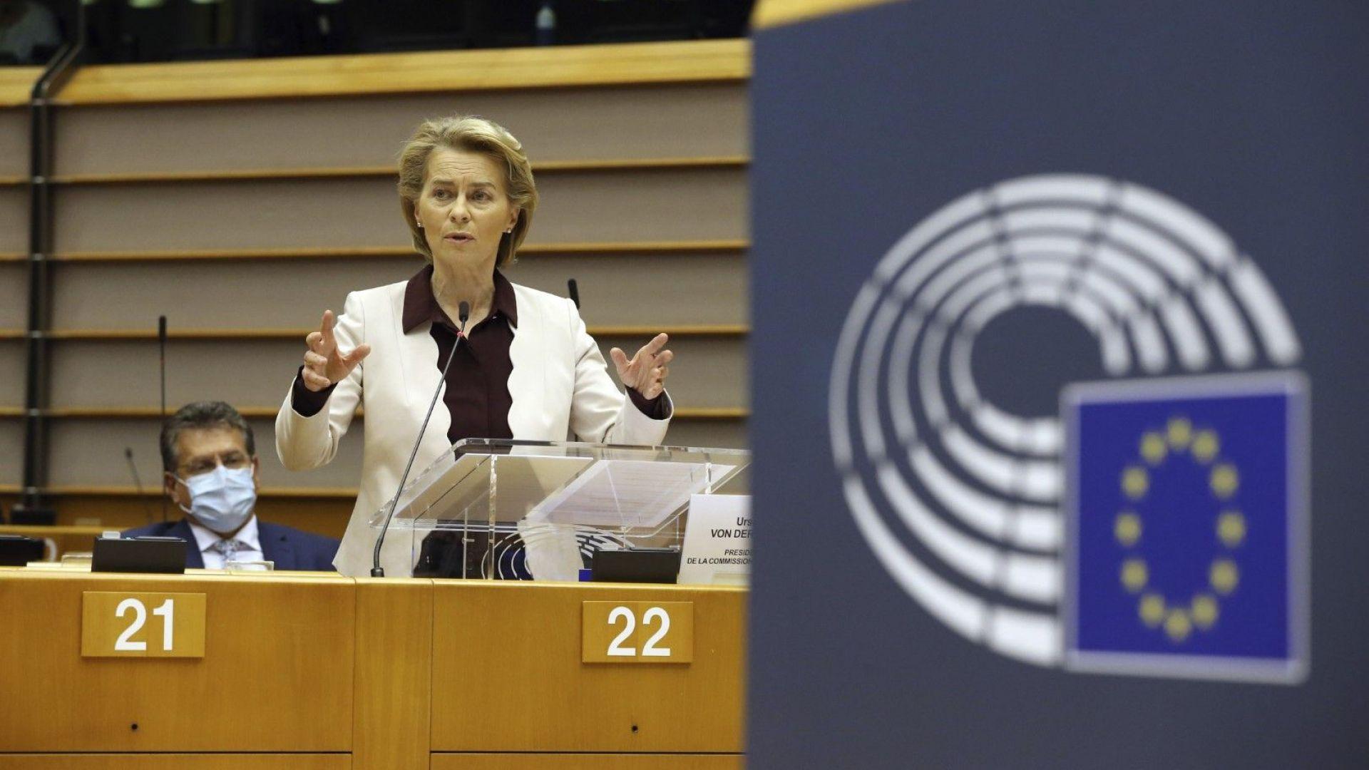 Европейският парламент заплашва да не одобри бюджета, приет от лидерите