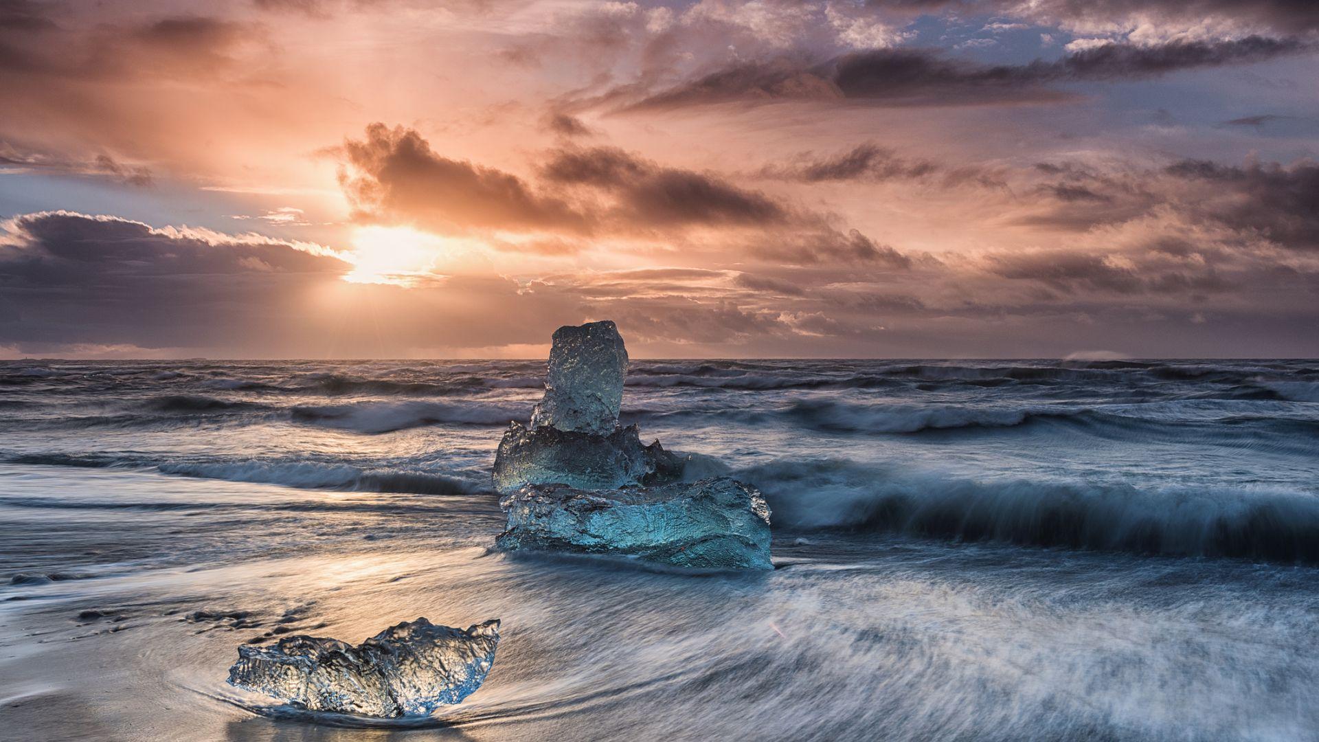 Ледовете в Берингово море са достигнали най-ниско ниво от 5500 години