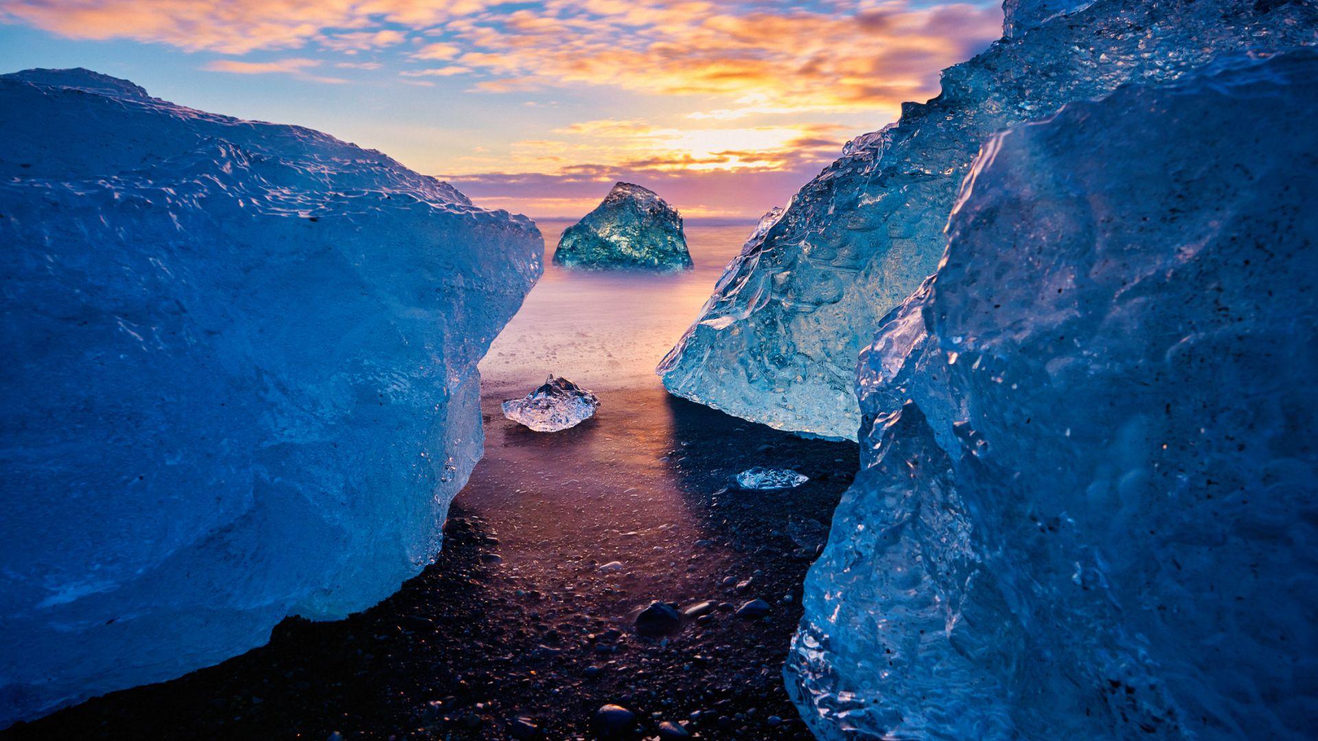 Топенето на леда в  миналото е довело до бързо повишаване на нивото на океаните