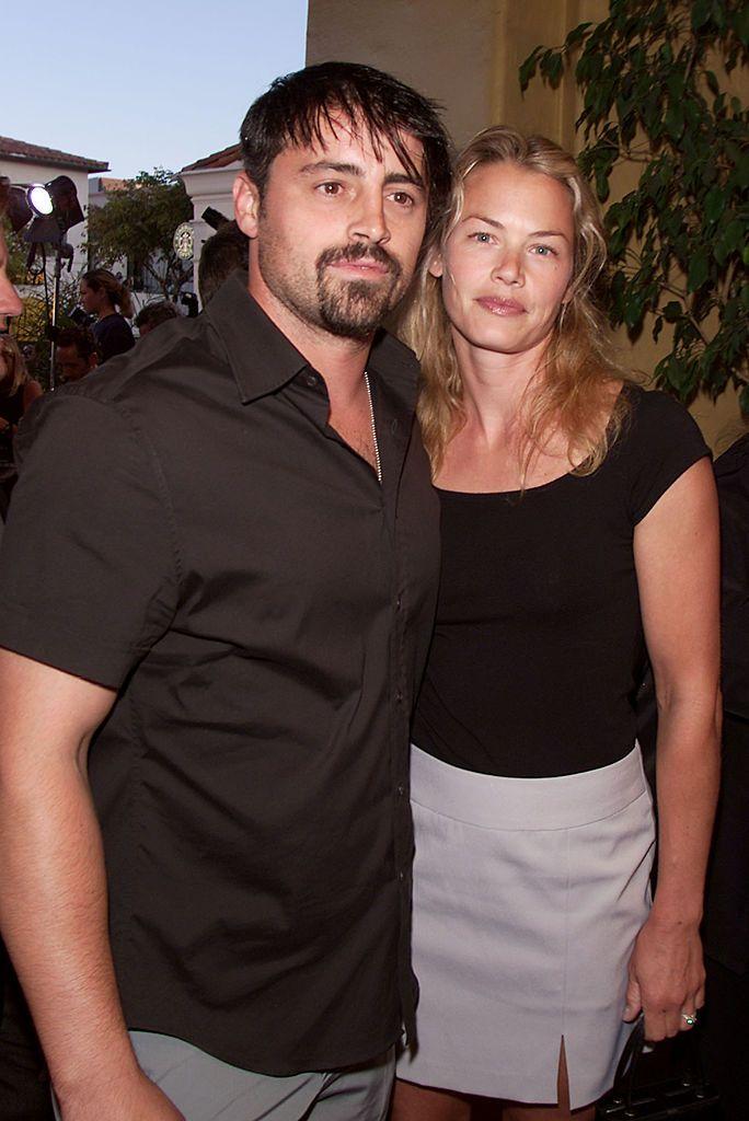 Мат ЛеБланк с бившата си съпруга Мелиса