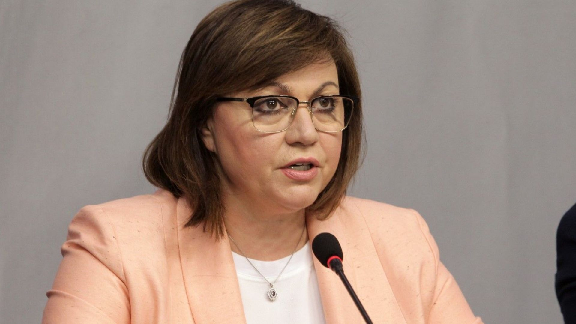 """Нинова: С """"Демократична България"""" се разбрахме да си сътрудничим за честни избори"""