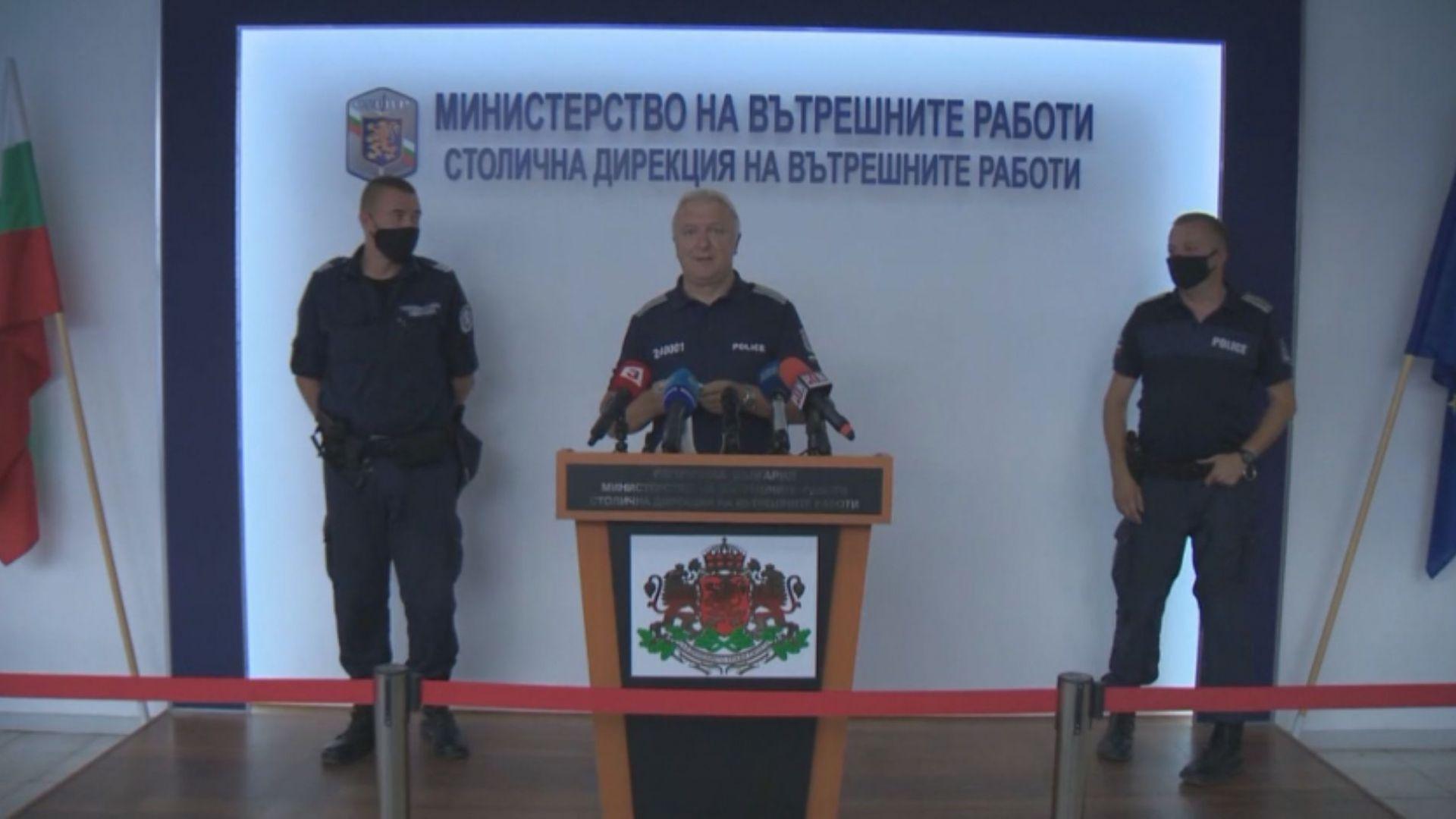 СДВР: Няма задържани след вчерашните протести, към Нинова и Дариткова бе изразена вербална агресия