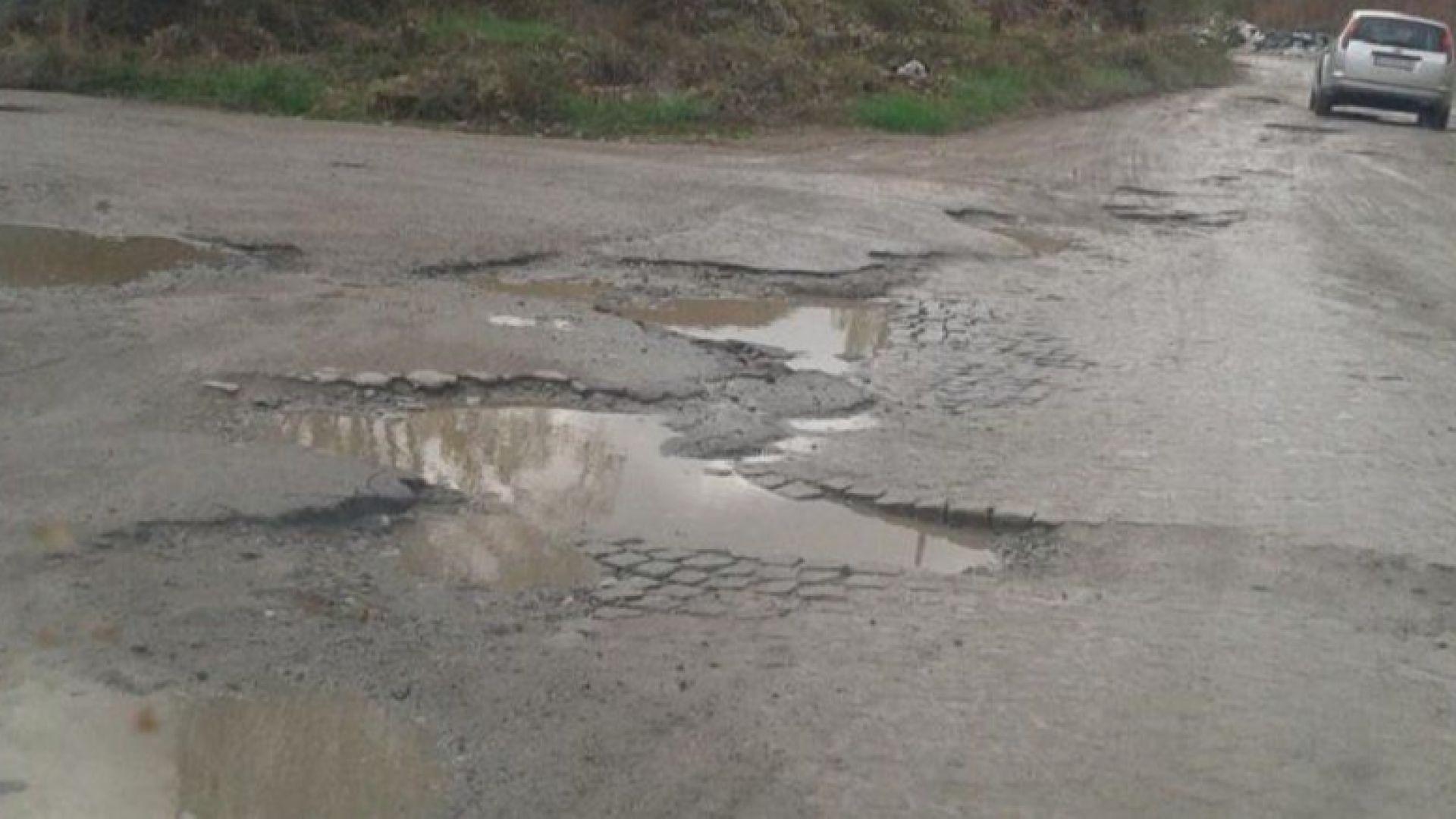 1200 от общинските пътища са в лошо състояние