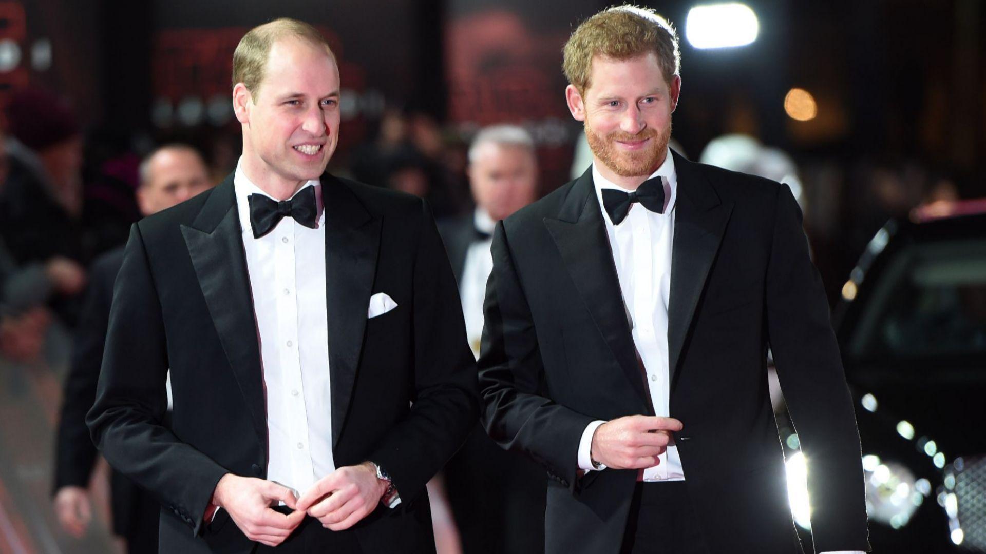 Принц Хари се засегнал от думи на по-големия си брат, касаещи Меган