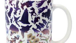 """Героите на Дисни """"оживяват"""" върху чаша за кафе"""