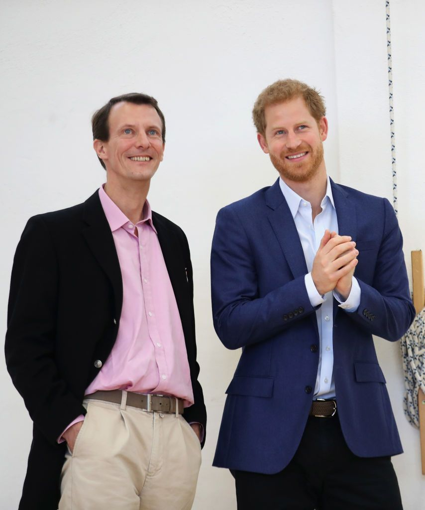 Принц Йоаким и принц Хари
