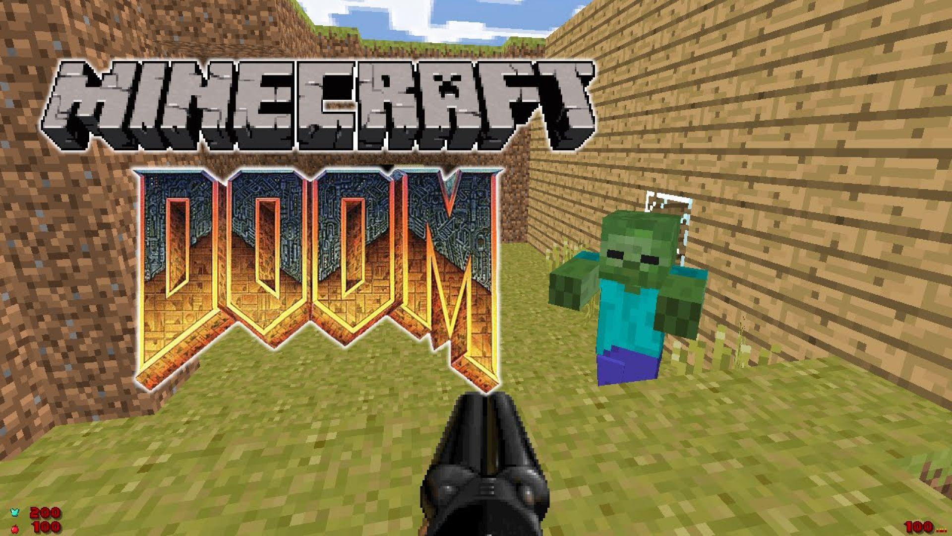 Вече можем да играем Doom вътре в Minecraft