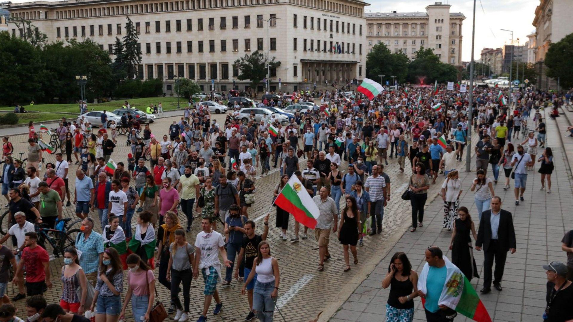 20-и пореден ден протест против правителството