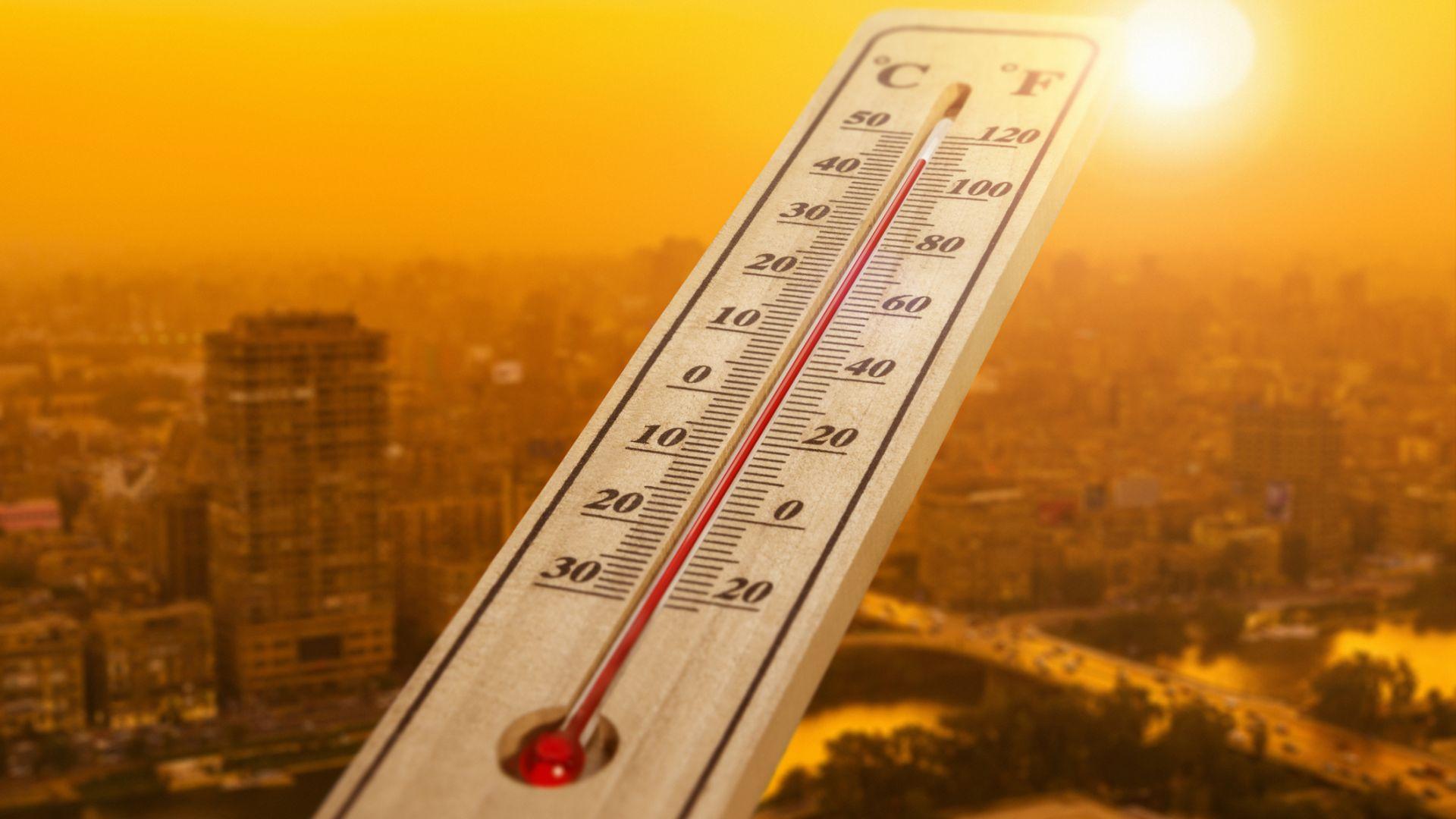 Горещо начало на седмицата, жълт код за жеги в цялата страна