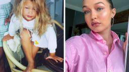 Детски снимки на най-красивите модели сега