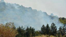 Пожар обхвана и гора близо до Симеоновград