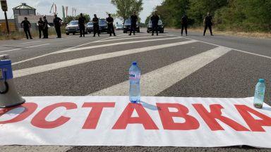 """Полицията не допуска блокада на АМ """"Тракия"""" заради опасност от катастрофи"""