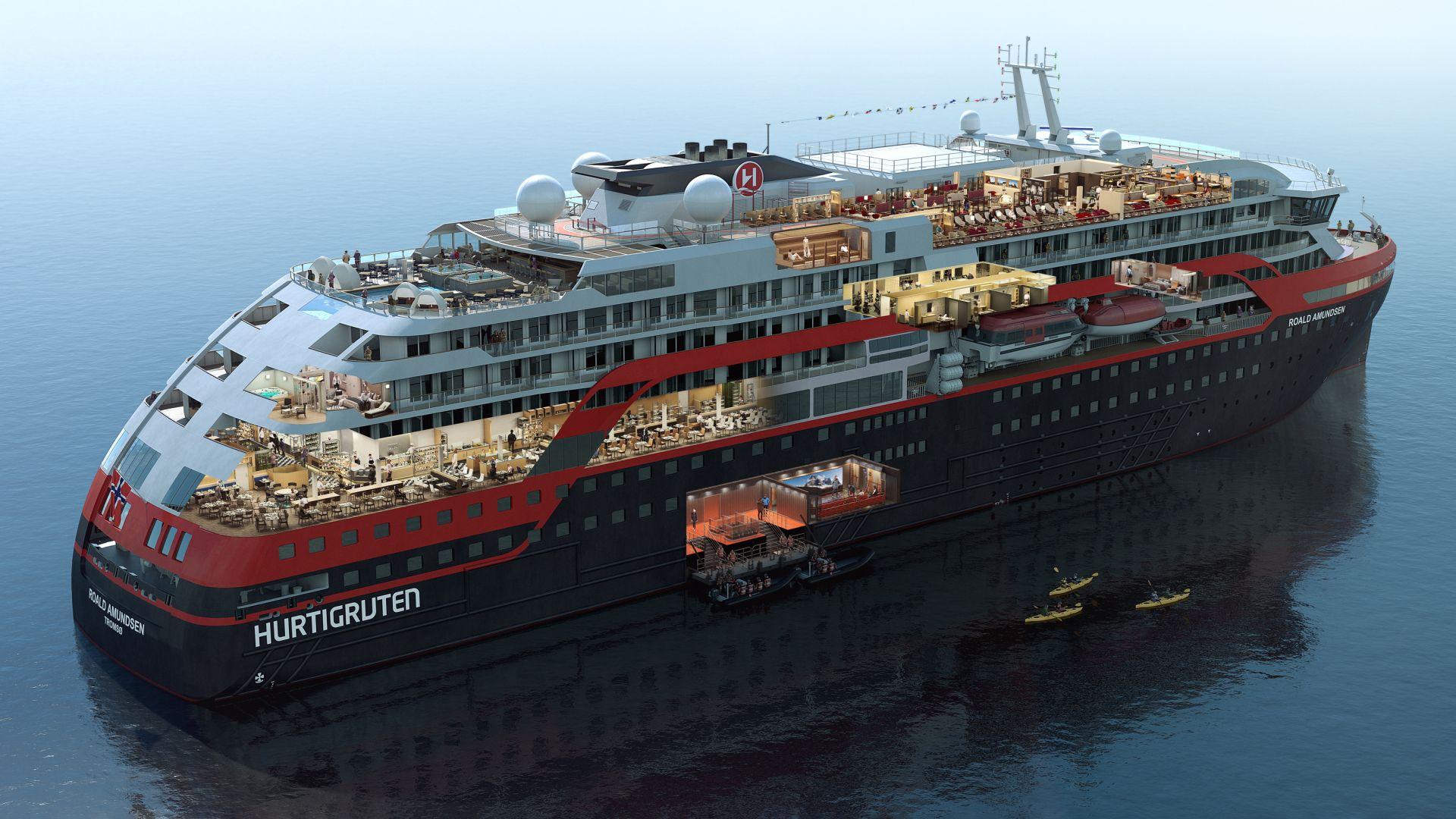 33-ма членове на екипажа на круизен кораб са заразени с COVID, над 500 души - под карантина