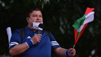 Откараха в болница протестиращия, който обяви гладна стачка