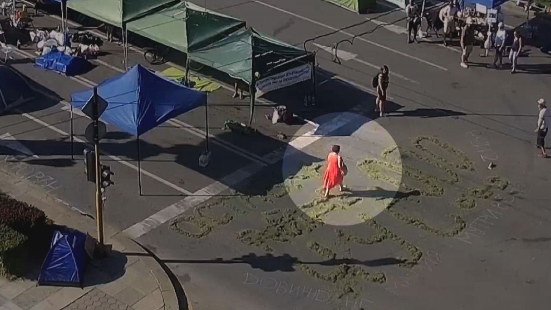 Жената с бастуна от Орлов мост: Минах през някакви боклуци зелени
