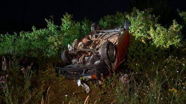 Катастрофата на жп прелеза край Разград: мъж е починал, жена е в кома