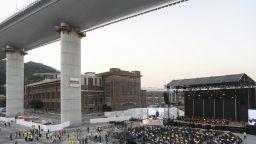 Спираща дъха скорост за построяването на новия мост в Генуа - 18 месеца