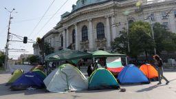 Вдигнаха блокадата пред Софийския университет