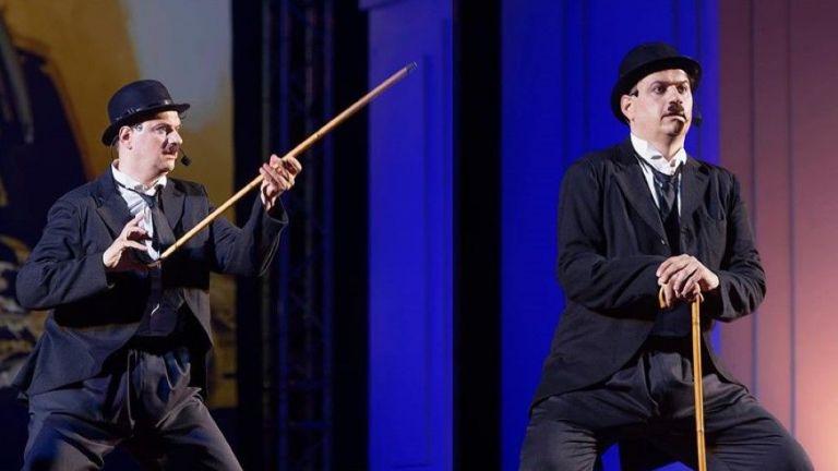 Мариан Бачев е Чаплин в едноименния мюзикъл на Варненската опера