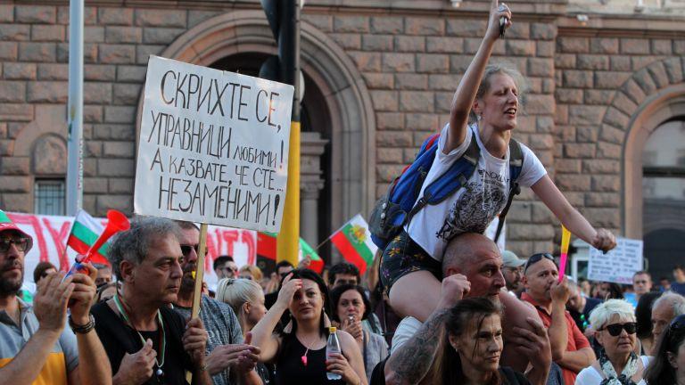 26-и ден на протести: Петима на гладна стачка, палатков лагер и във Варна (снимки)