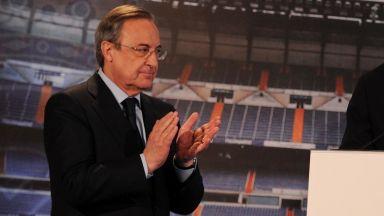 Флорентино Перес: Суперлигата ще спаси футбола. Иначе сме мъртви до 3 години